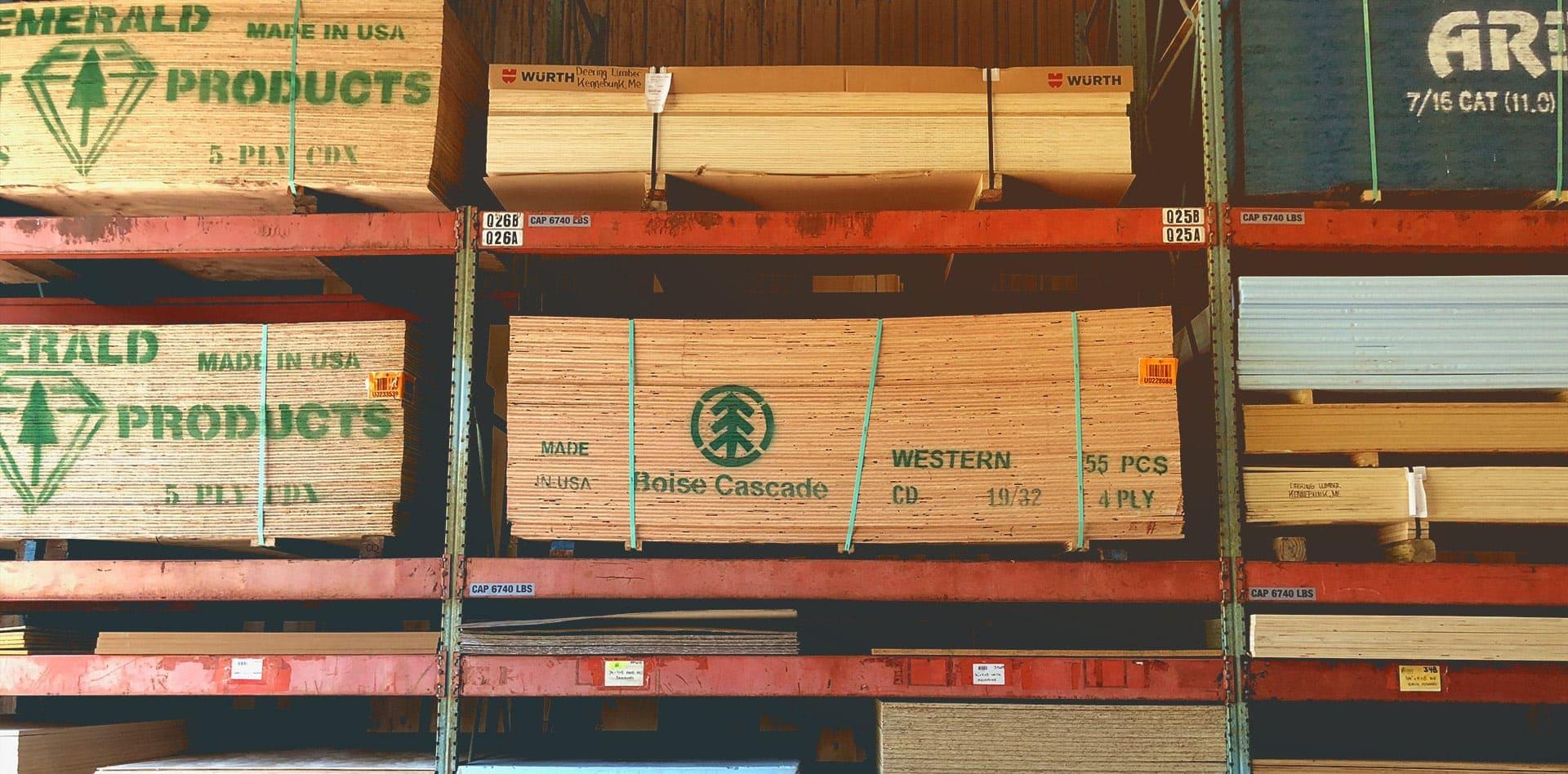 Deering Lumber Facility