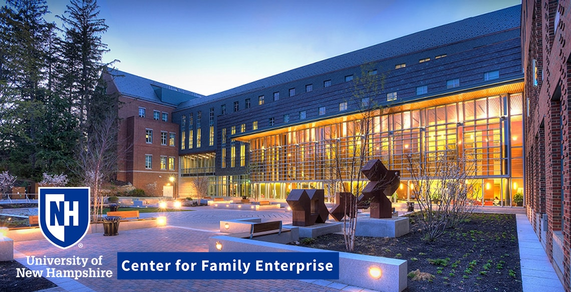 UNH Center for Family Enterprise Peloton Advisory