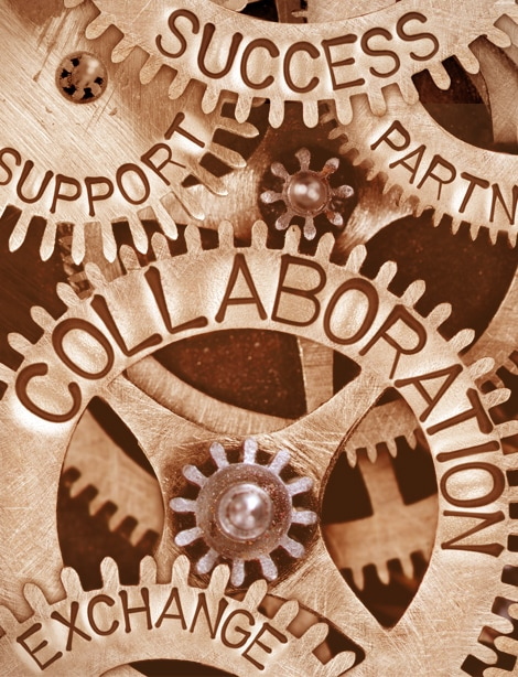 Collaboration with Advisors Gears